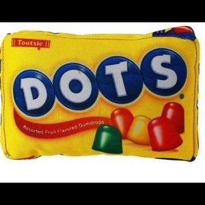 """🦴 3/$30 Dots Candy Squeaky Dog Toy 8"""""""